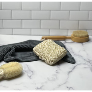Sisal Body Scrubber - bath brush