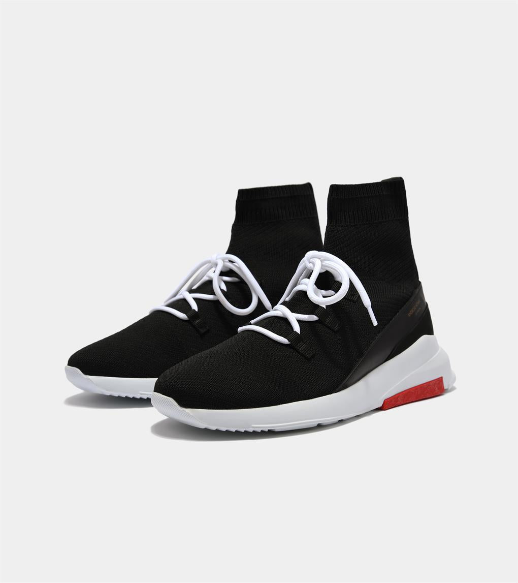 Redondo | Black Sock Knit AHP193-22