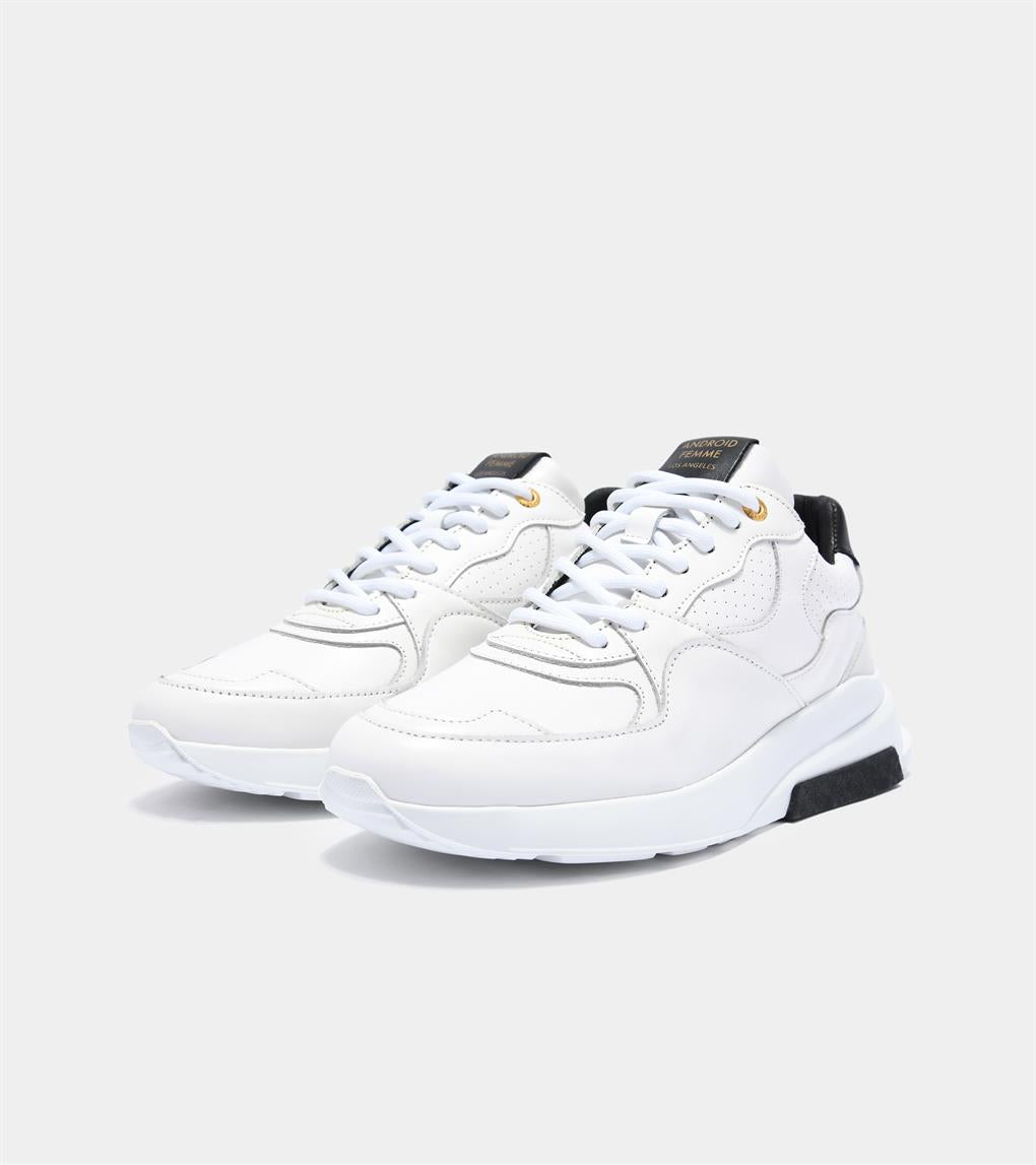 Womens Malibu  | White Leather AFP201-15