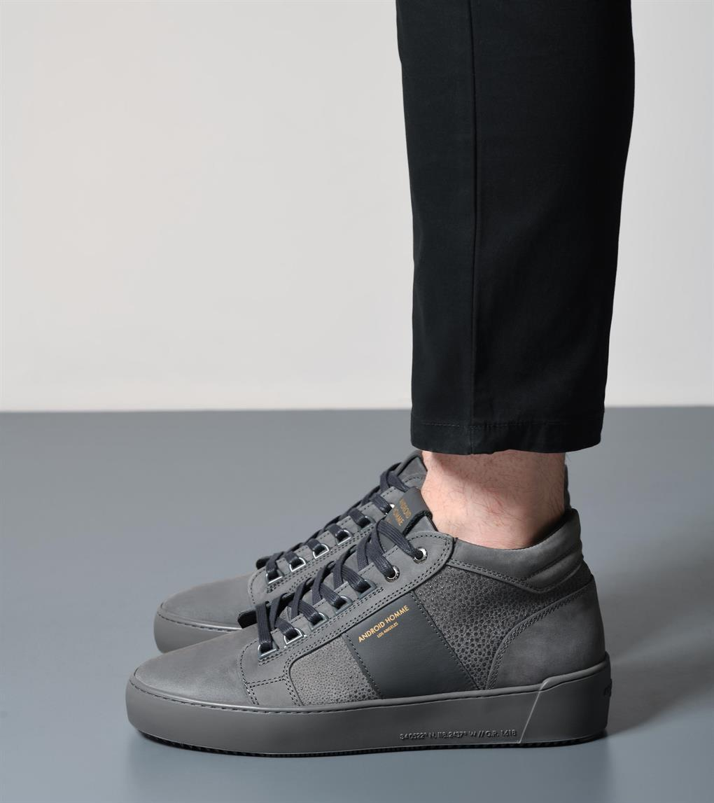 Propulsion Mid  | Grey Stingray Suede AHP193-26