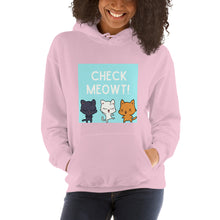 Load image into Gallery viewer, Check Meowt Cat Hoodie - That Woof Store