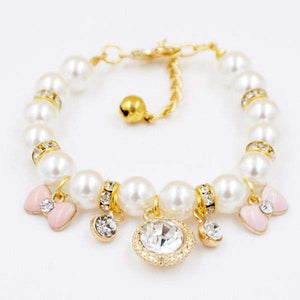 Princess Pearl Pet Necklace - That Woof Store