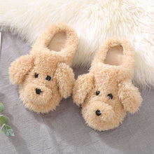 Load image into Gallery viewer, Faux Fur Dog Slippers New | High Quality Winter Warm Plush Slides - That Woof Store