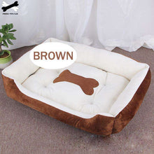 Load image into Gallery viewer, Bone Pet Bed Warm Pet Bed for Dogs - That Woof Store