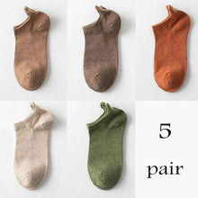 Load image into Gallery viewer, Adorable Natural Cotton Kitty Socks for Women | 5 Pairs - That Woof Store