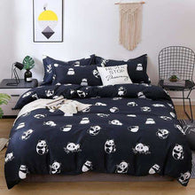 Load image into Gallery viewer, Quick Shipping |  Cute Cat Kitty Duvet Cover Pillow Case Bed Sheet Set - That Woof Store