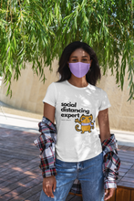 Load image into Gallery viewer, Social Distancing Funny Cat Shirts - That Woof Store
