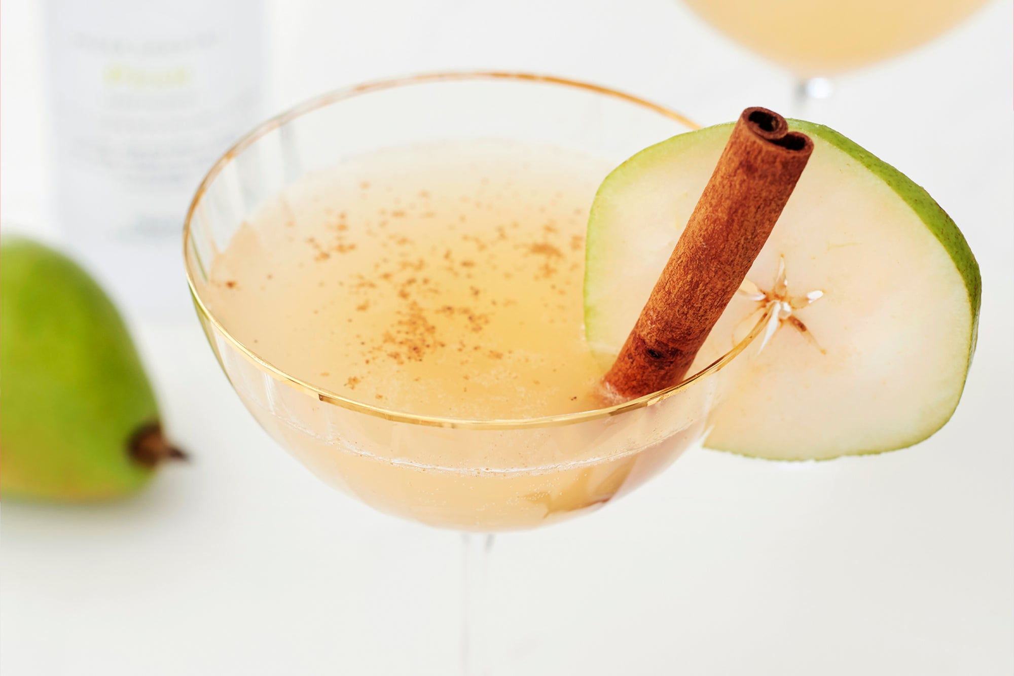 Spice It Up Pear Martini