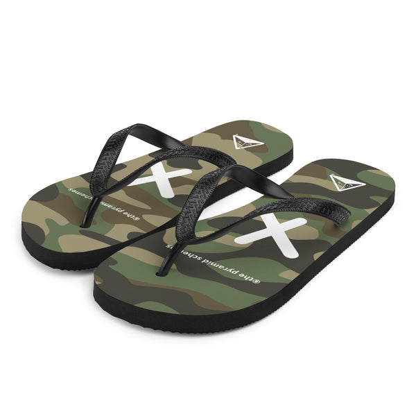 "®the pyramid schemes ""Low Key"" Flip-Flops"