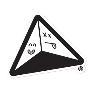 "®the pyramid schemes ""Logo Sticker"""