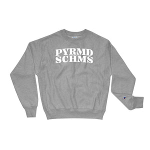 "the pyramid schemes ""(1 of 10) 'Made Clear' Champion Sweatshirt"