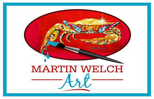 Crab Man Art is the online store for Martin Welch Art, LLC