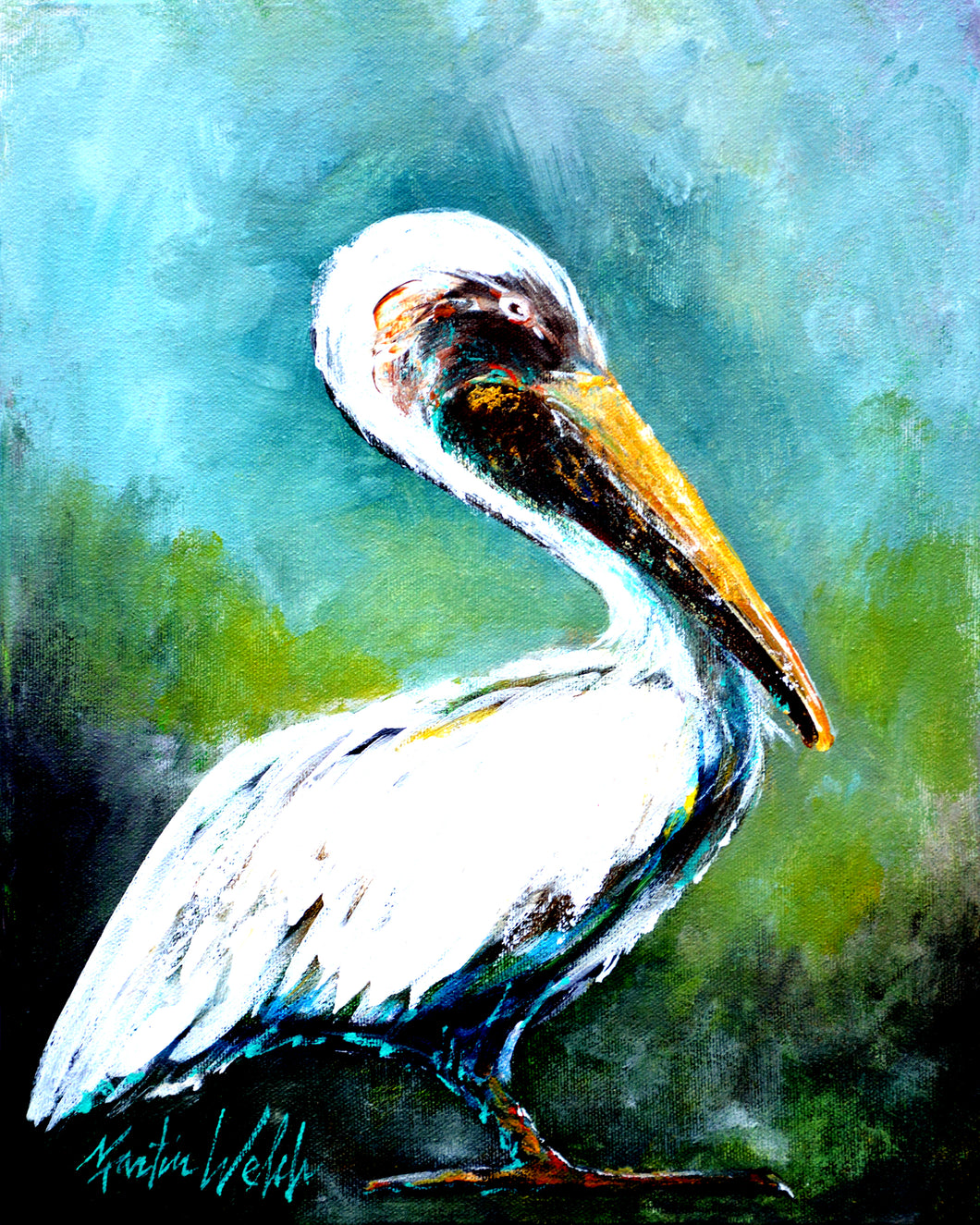 Blue Stand - Pelican - 11