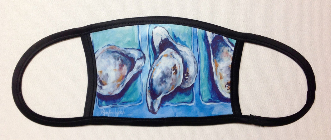 Oyster plus Oyster Face Mask with Oyster Shells