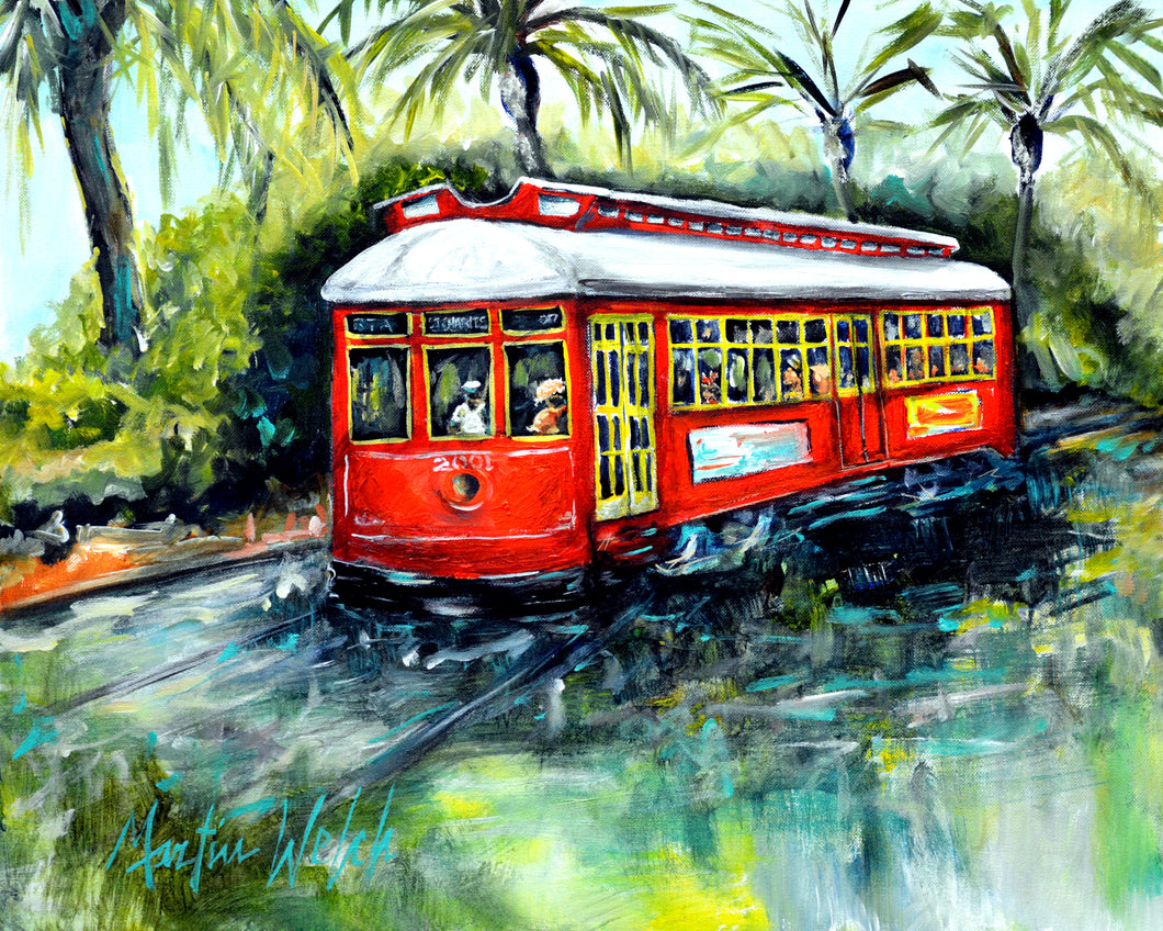 Little Red - New Orleans Streetcar - 11