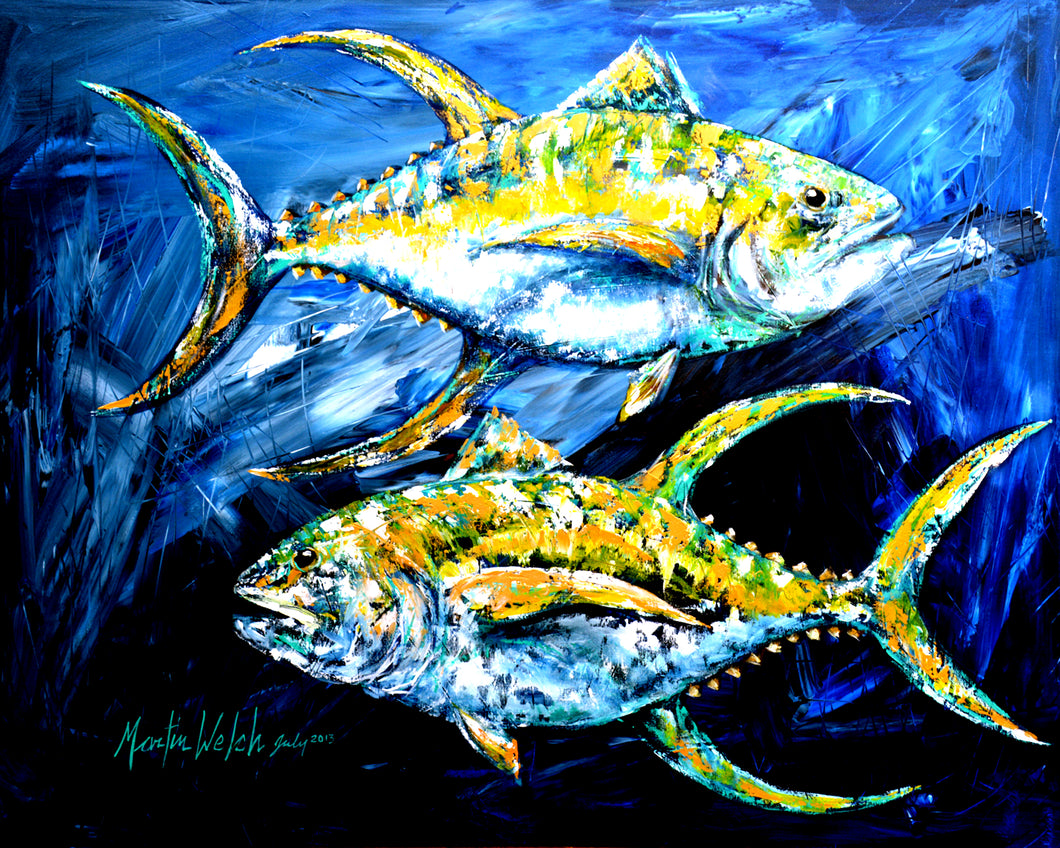 Tuna Blue - Yellow Fin Tuna Fish - 11