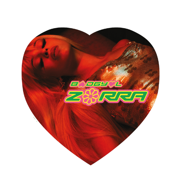 "Aprendiendo El Sexo / Zorra Picture Disc 10"" Heart Shaped"