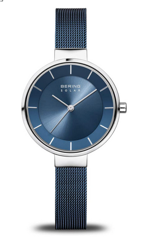 BERING Womens Analogue Watch with Stainless Steel Strap