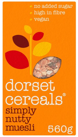 dorset cereals simply nutty