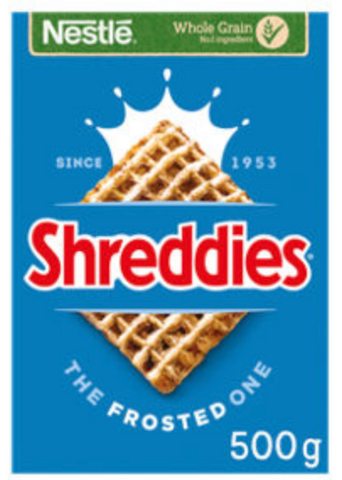 Shreddies the frosted one