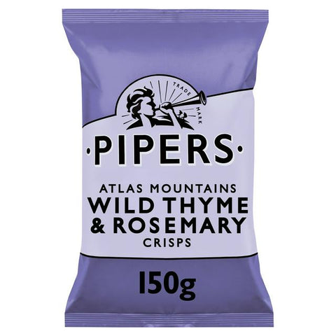 Wild Thyme and Rosemary crisp packet
