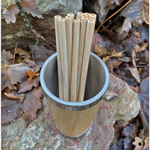 Load image into Gallery viewer, Reusable Bamboo Straws - 10 Pack
