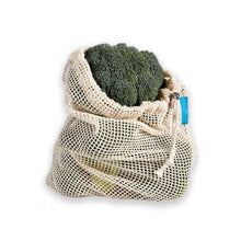 Load image into Gallery viewer, Organic Cotton Mesh Produce Bags