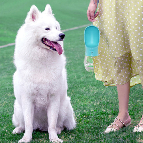 Classic Dog Portable Water Bottle - pawstive