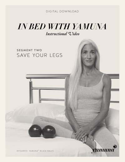 In Bed with Yamuna - 2. Legs - Yamuna