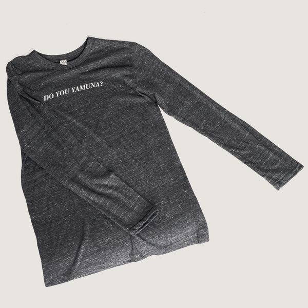 """Do You Yamuna?""             Long Sleeve Shirt - Yamuna"