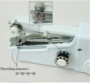 🔥【BUY 1 FREE 1】🔥 SOY™ Portable Household Handy Stitch Electric Mini Handheld Sewing Machine