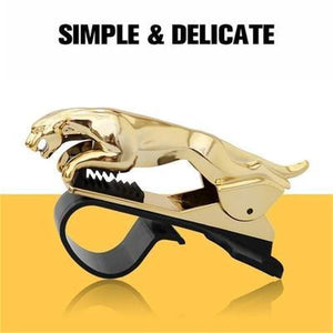 [Buy 1 Free 1] SHAPE™ Universal 360° Rotating Car Leopard Phone Clip Holder