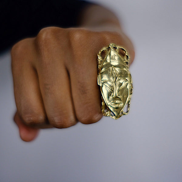 SENUFO MASK RING