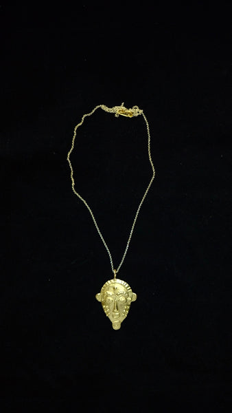 BIOMBO MASK NECKLACE