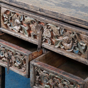 Console Table of Woodcarving