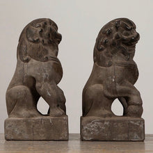 Load image into Gallery viewer, Bluestone MenDun Lions (Pair)