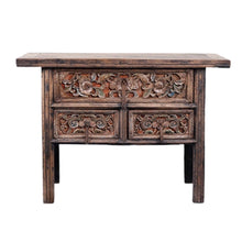 Load image into Gallery viewer, Console Table of Woodcarving