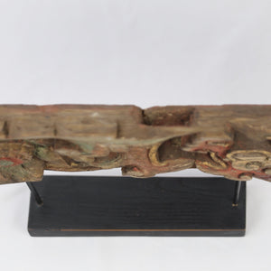 19th Century Woodcarving with Stand