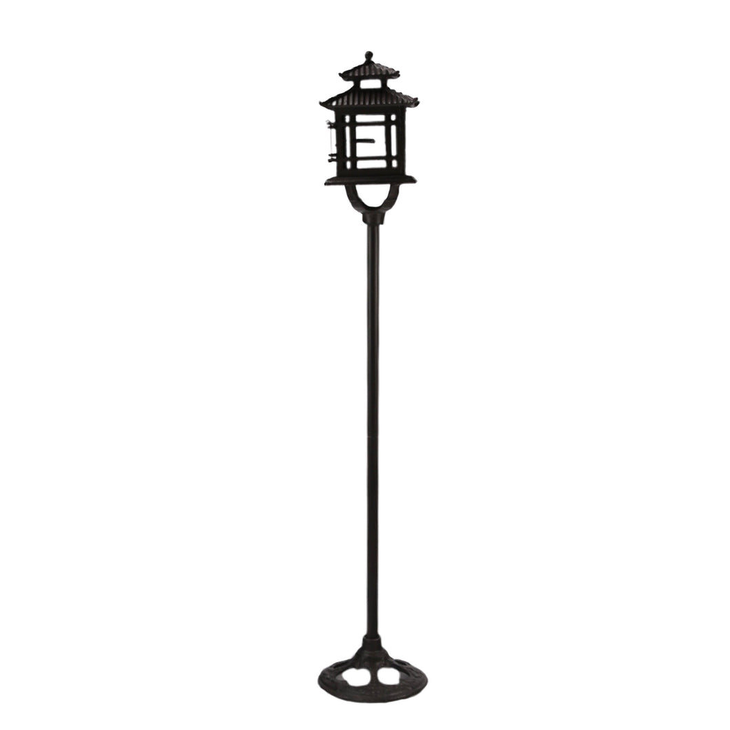 Iron Floor Candle Lamp