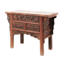 Load image into Gallery viewer, Console Table in Red Lacquer