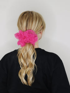 Pretty in Pink Scrunchie