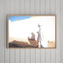 Load image into Gallery viewer, ALGERIA - nomad man and shadow
