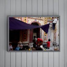Load image into Gallery viewer, VIETNAM - Hanoi street scene