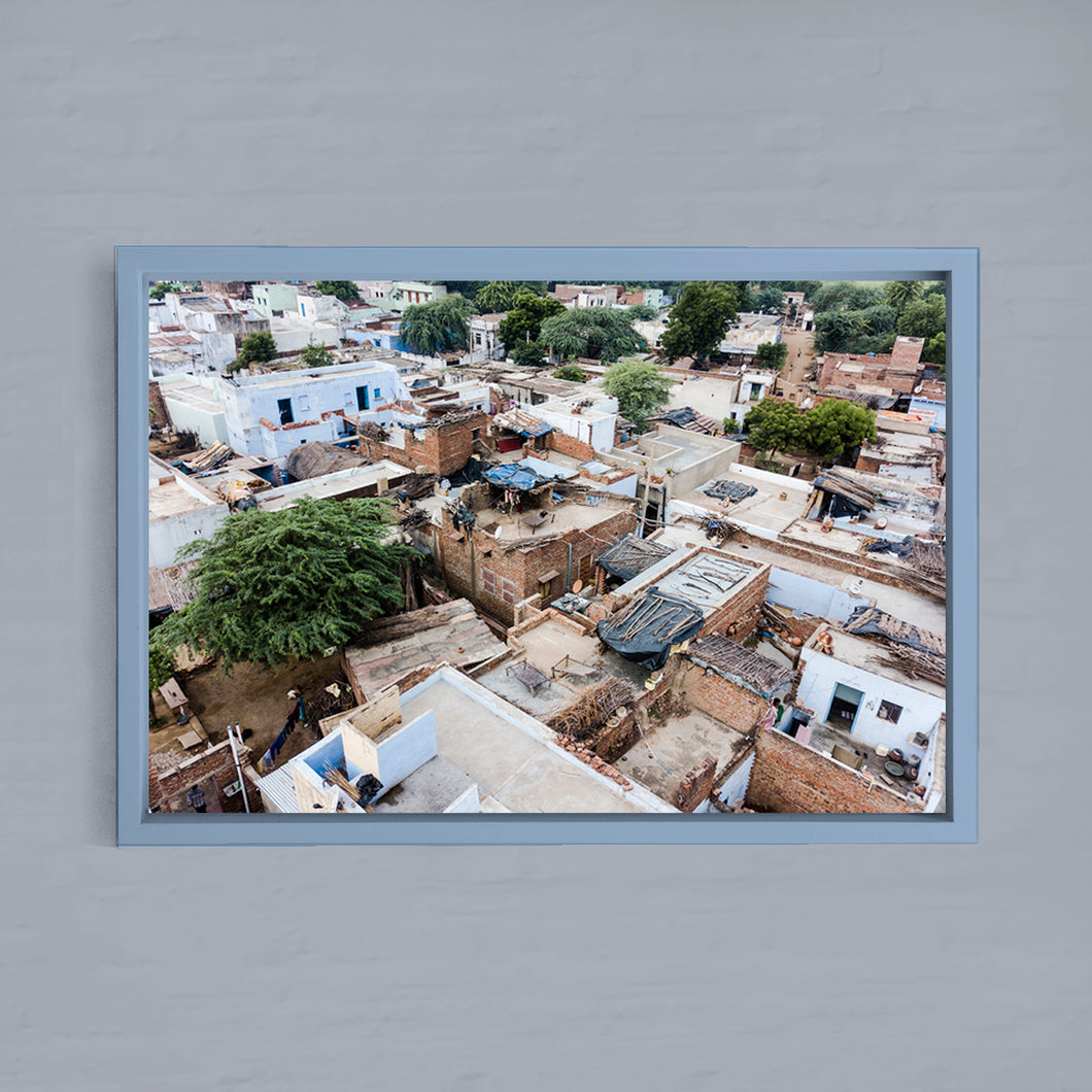 INDIA - PEHERSAR - from above