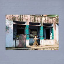 Load image into Gallery viewer, INDIA - Ramathra Fort - school girl in the street