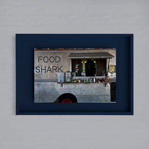 AMERICA - MARFA - food shark truck