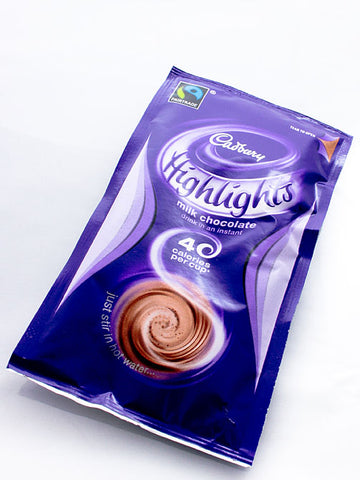 Cadbury Highlights Milk Chocolate Drink 10x 11g