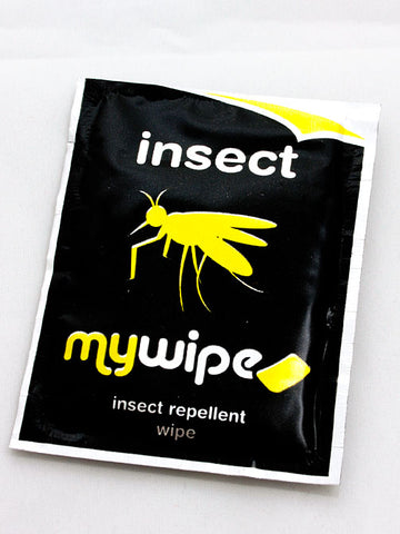 Insect Repellent Wipe sachets - x10