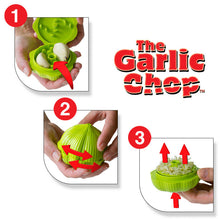 Load image into Gallery viewer, Green Garlic Chop - How To Use 1,2,3