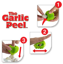 Load image into Gallery viewer, Green Garlic Peel - How To Use 1,2,3